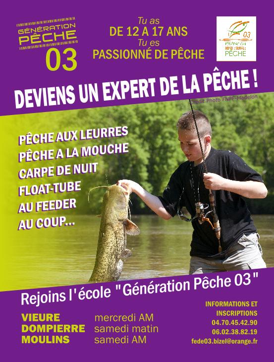 affiche Génération Pêche 03