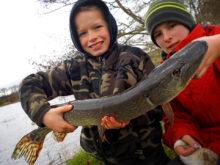 Génération pêche 03 : brochet de Noa